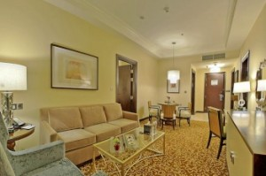 two bed room suite city view makkah hilton suites jabal omar hotels